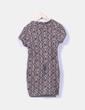 Vestido lana  estampado NoName