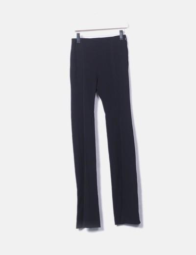 Pantalon noir cloche de Mango