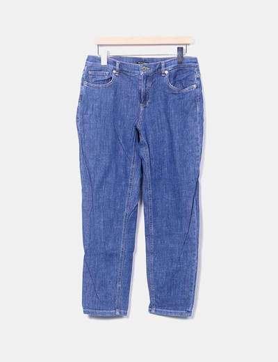 Jeans denim recto Massimo Dutti