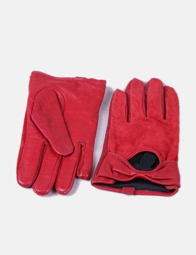 17ce5b414bb3 NoName Rote Lederhandschuhe (Rabatt 77 %) - Micolet
