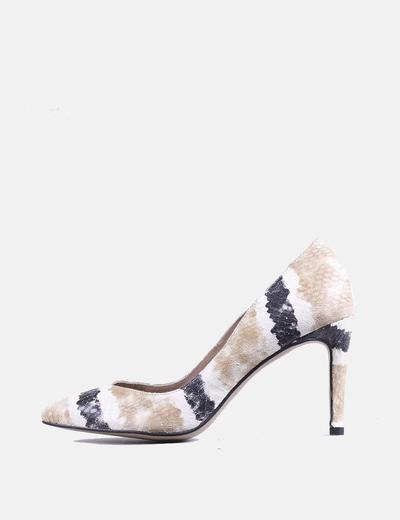 Chaussures texturé imprimé animal Cortefiel