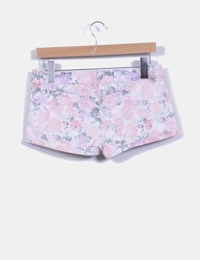 Short estampado floral