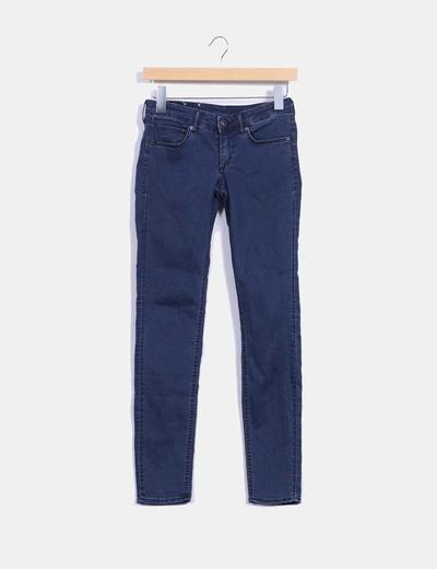 Pantalón denim azul H&M