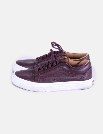 vans old skool cuir