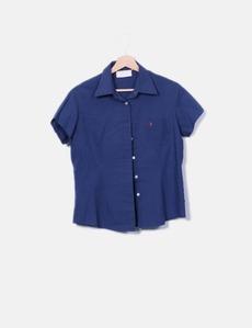 Forestal Rosafarbenes Shirt mit seitlicher Stickerei (Rabatt 84 ... 79b2d7a1ff
