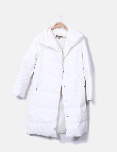 60 rabatt Mantel Zara Weißer Micolet 7npqYnXwx