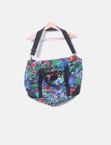 d54c8ab0455 Bolsa deportiva floral multicolor Desigual