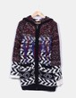 Chaquetón lana con capucha Isabel Marant