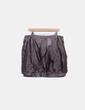 Falda midi marrón estampada Trucco
