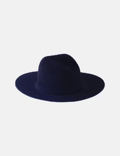 Sombrero lana negro