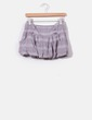 Falda globo gris de rayas rosas Suiteblanco