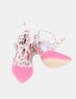 Zapato tacón con tachuelas  The Fame Monster