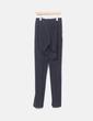 Pantalón de traje gris marengo Zara