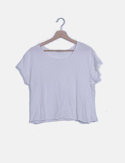 Camiseta blanca lisa