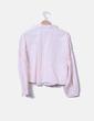 Camisa rosa bordado floral Lefties
