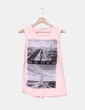 Camiseta print rosa palo Lefties