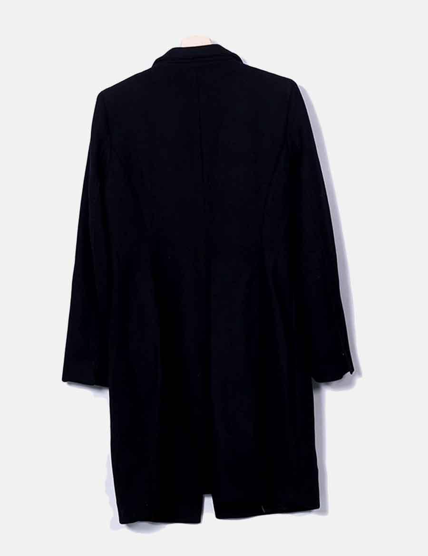 Y Zara Mujer Abrigo Chaquetas Online De Abrigos Paño Baratos Negro HgrqH4Ow