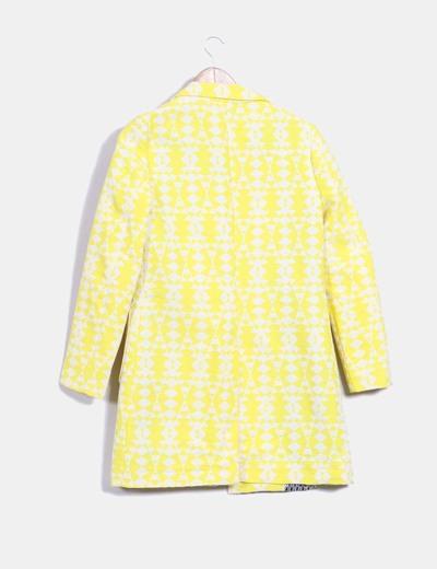 Levita texturizada amarillo