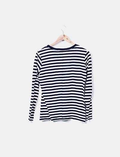 comprar estilo clásico venta en línea Camiseta de rayas manga larga
