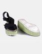 Sandales plate noires -forme Zara