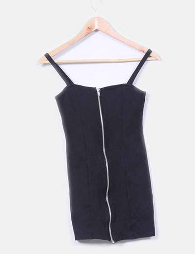 Mini vestido entallado cremallera
