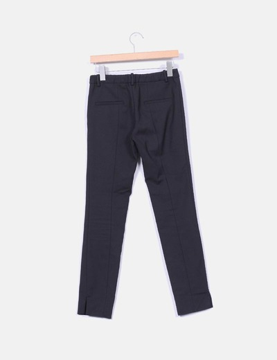 Pantalon tobillero cremallera lateral