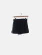Pantalón short negro fluido Fórmula Joven
