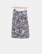 Falda con estampado multicolor Bershka
