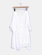 Top crochet oversize blanco NoName
