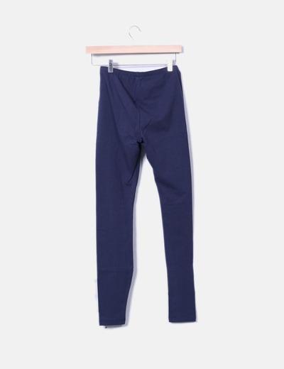 Legging basico azul