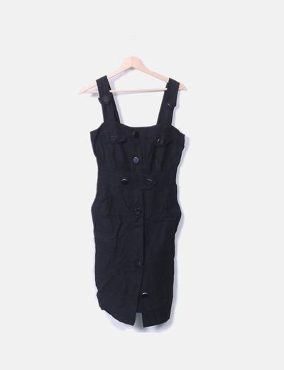 KnöpfenRabatt 62Micolet mit Schwarzes Kleid Zara hrCstQdx