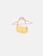 Bolso mini amarillo charol Guess