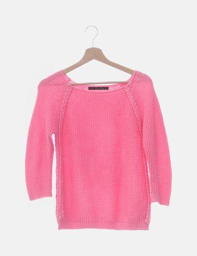 Jersey rosa de punto