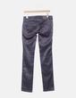 Pantalón gris satinado Zara