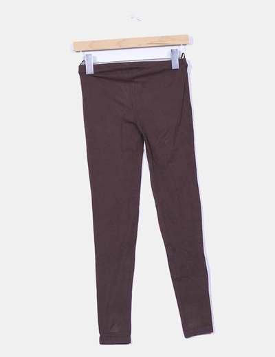 Leggings tobillero marron