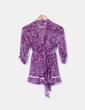 Blusa morada estampada Suiteblanco
