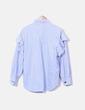 Camisa oversize a rayas Zara