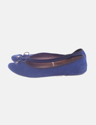 Bailarina azul marina