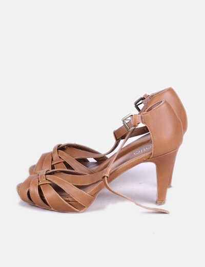 Chaussures marron à talons Zintia