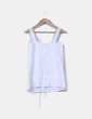 Blusa blanca combinada  Shana