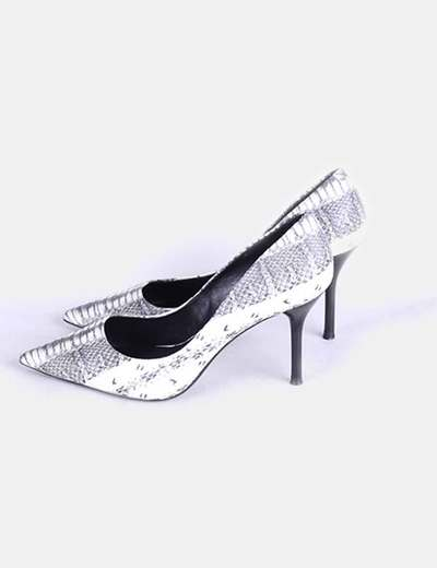 Stiletto print serpiente Zara