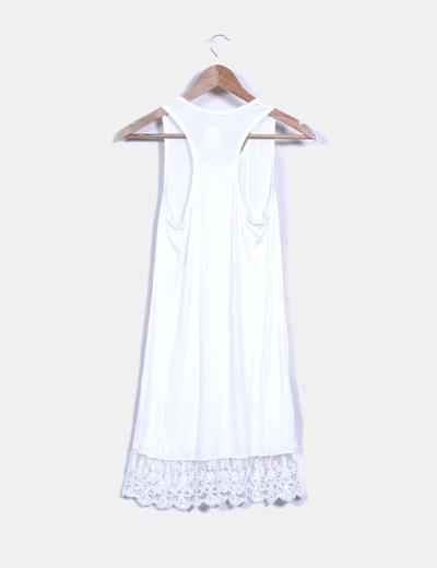 Vestido lencero blanco