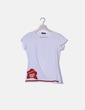 Camiseta blanca parche Sfera