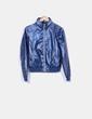 Chaqueta azul marino impermeable Zara