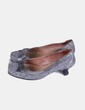 Zapatos tweed grises Cuplé