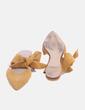 Zapato plano serraje Mango