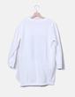Vestido deportivo blanco print Zara