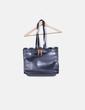Bolso maletín negro Zara