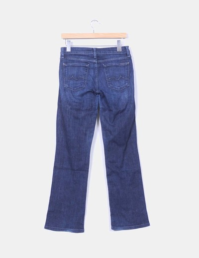 Jeans oscuros bootcut