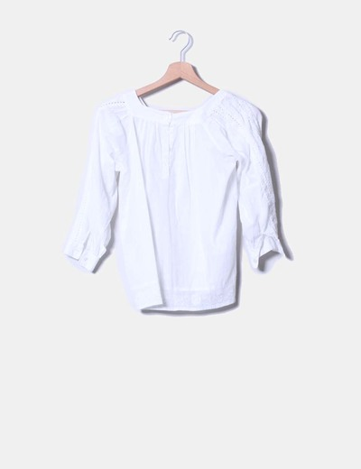 Blusa blanca BD Girls